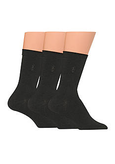 Polo Ralph Lauren Flat Knit Trouser Socks - 3 Pack