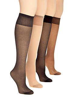 Berkshire Hosiery Queen Reinforced Toe Knee High