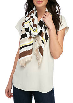 Collection XIIX Flowy Stripe Scarf
