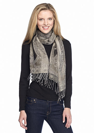 New Directions® Allover Paisley Scarf