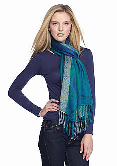 New Directions Allover Paisley Scarf