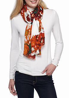New Directions Brushed Peony Pashmina Scarf