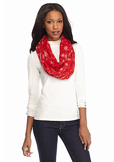 New Directions Snowy Wonderland Infinity Scarf