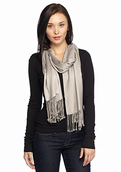 New Directions® Satin Pashmina Scarf