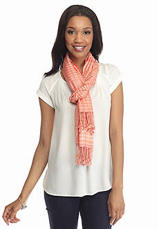 New Directions Double Sided Stripe Pashmina