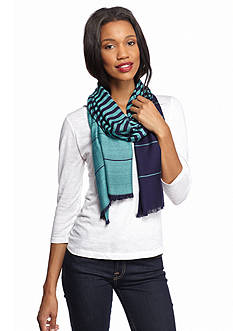 New Directions® Variegated Stripe Pashmina Scarf