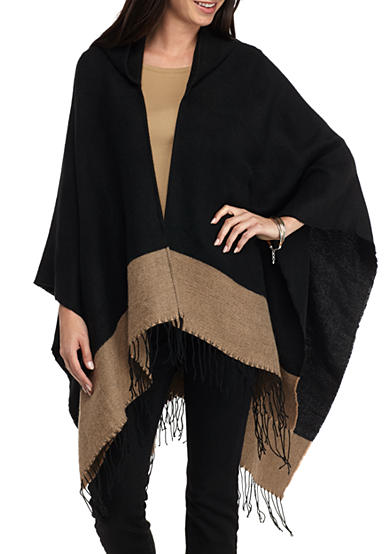 New Directions® Hooded Ruana Wrap