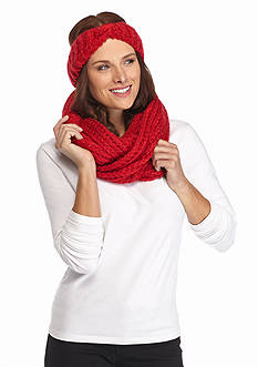 New Directions Headwrap Infinity Scarf Set