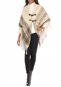 New Directions Boucle Border Wrap