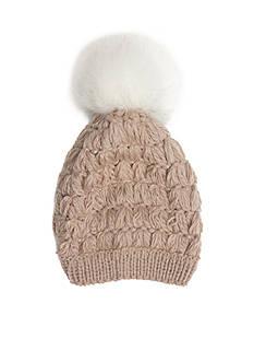 New Directions Crochet Pom Pom Hat