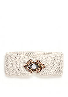 New Directions Embellished Diamond Pendant Headwrap