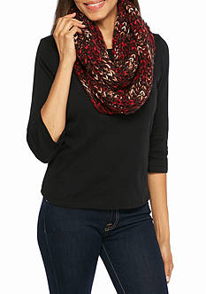 New Directions Vibrant Space Dyed Loop Scarf