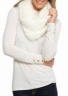 New Directions Eyelash Shine Loop Scarf