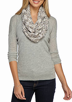 New Directions Super Celebration Shine Loop Infinity Scarf