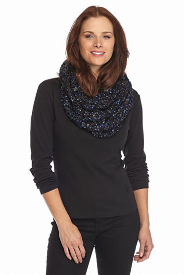 New Directions® Super Celebration Shine Infinity Scarf