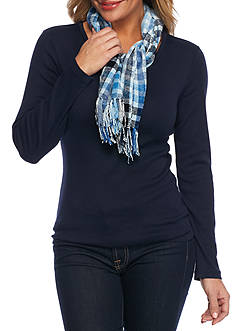 New Directions® London Plaid Scarf