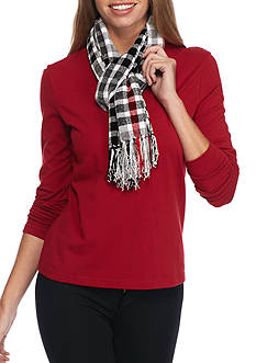 New Directions London Plaid Scarf