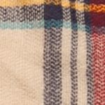 Handbags & Accessories: Plaid Sale: Camel New Directions College Plaid Runway Blanket Wrap