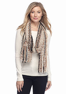 New Directions All Over Feather Muffler Scarf