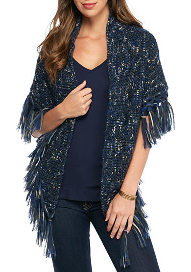 New Directions® Novelty Knit Yarn Crescent Triangle Shawl