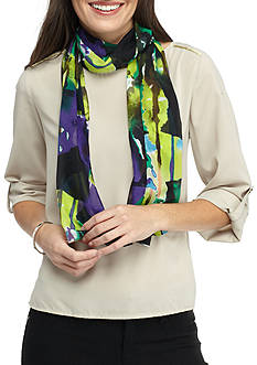 Kim Rogers® Abstract Image Oblong Scarf