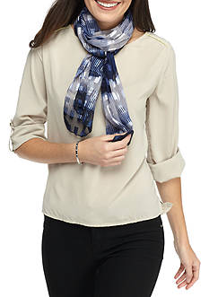 Kim Rogers® Abstract Stripe Oblong Scarf