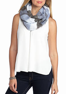 Betsey Johnson Crystal Lite Infinity Scarf