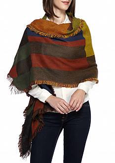 Steve Madden Color Black Blanket Wrap