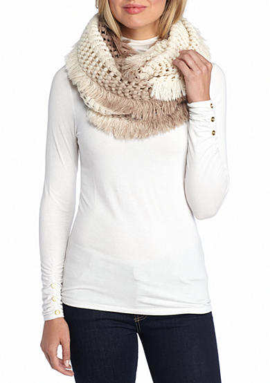 Steve Madden Made in the Shade Ombre Infinity Scarf