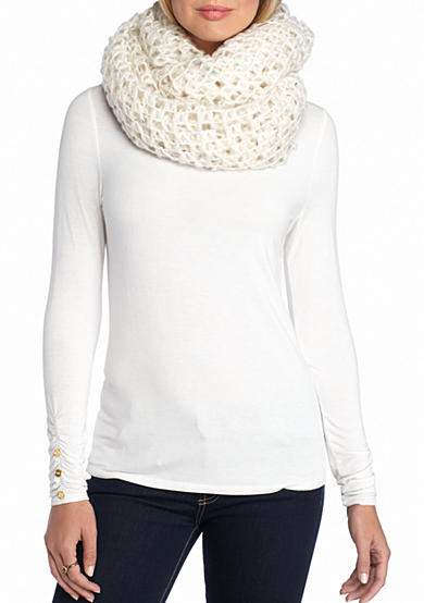 Steve Madden Open Up Infinity Scarf