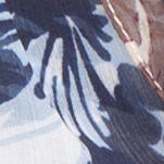 Clothing Accessories: Infinity: Navy Cejon Garden Elegance Infinity Scarf