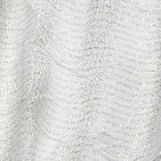 Juniors: Accessories Sale: Ivory Cejon Diamond Pleated Lurex Wrap Scarf