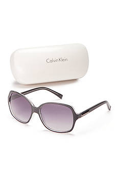 Calvin Klein Large Rectangle Sunglasses