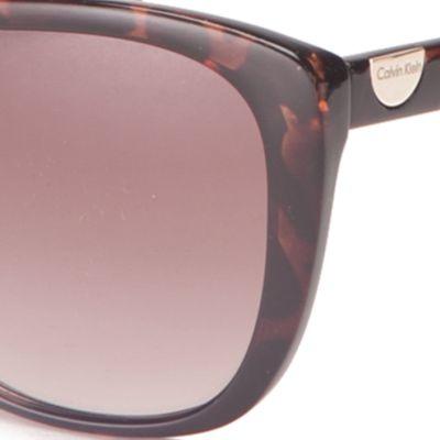 Calvin Klein Sunglasses: Tokyo Tortoise Calvin Klein Cat Eye Sunglasses
