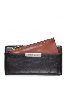 Kim Rogers® Caraway Checkbook Wallet