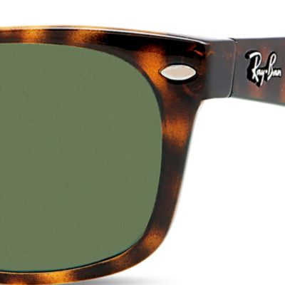 Handbags & Accessories: Ray-ban Accessories: Tortoise Ray-Ban New Classic Wayfarer® 52-mm. Sunglasses