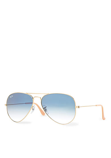 Ray-Ban® Classic Gold Aviator with Dark Grey Lenses