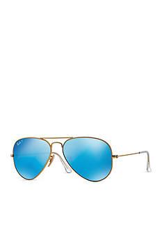 Ray-Ban Polar Flash Aviator Sunglasses