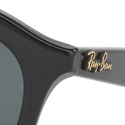 Round Sunglasses: Black Ray-Ban Gatsby Sunglasses