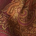 Clothing Accessories: Oblong: Wine Ralph Lauren Sonia Scarf