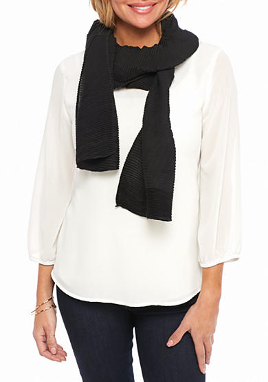 Ralph Lauren Pleated Scarf