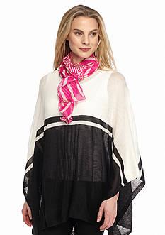 Lauren Ralph Lauren Livia Stripe Ruffle Scarf