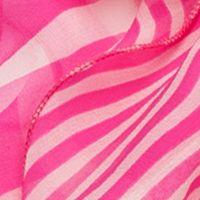 Handbags & Accessories: Scarves Sale: Exotic Pink Lauren Ralph Lauren Livia Stripe Ruffle Scarf