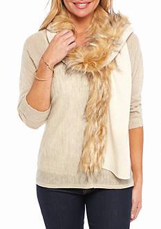 Ralph Lauren Faux Fur Scarf