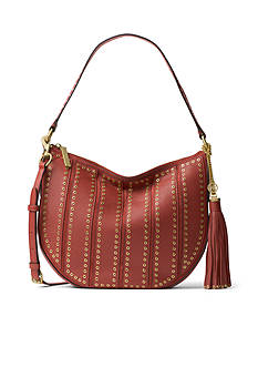 MICHAEL Michael Kors Brooklyn Grommet Medium Leather Hobo
