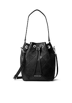 MICHAEL Michael Kors Argyle Dottie Medium Bucket Bag