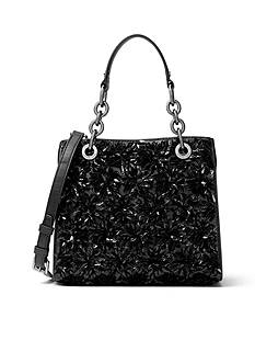 MICHAEL Michael Kors Flora Burst Small North/South Satchel
