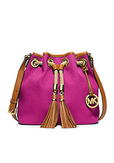 MICHAEL Michael Kors Marina Medium Drawstring Messenger Bag