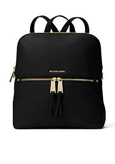MICHAEL Michael Kors Rhea Medium Slim Leather Backpack