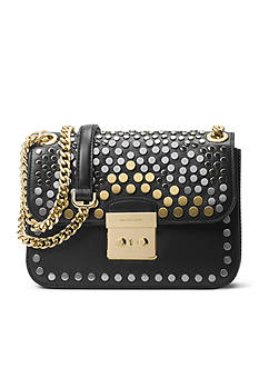 MICHAEL Michael Kors Jenkins Stud Sloan Medium Chain Shoulder Bag